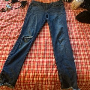 Hollister low rise super skinny jeans size 5